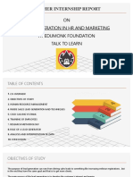 LEAD generation in HR and MARKETING