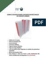 Ejemplo de Edificaciones Con Muros Estructurales