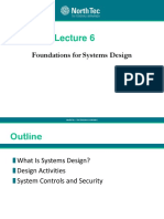 Chapte 6 -systems design