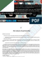 Partnership Law - LLB - Notes 2