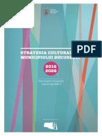 A doua Strategie culturală a Bucureștiului 2016-2026