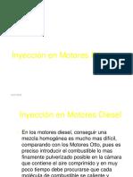 Inyección de Combustible Diesel