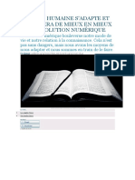 Texte C1 Adaptation Aux Nouvelles technologies