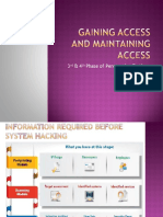 Gaining and Maintaining Access-converted