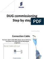 DUG commissioning Step by step.pptx