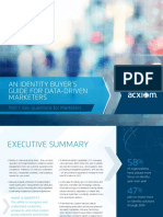 An Identity Buyer's Guide for Data-Driven Marketers