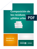 3-Composicion de Los Residuos Solidos Urbanos