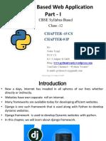 Chapter 15 Django Based Web Application Part i