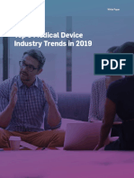 Top 5 Medical Device Industry Trends in 2019