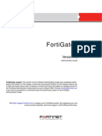 FortiGate Administration Guide 01 400 89802 20090219