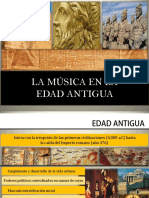 Musica en La Edad Antigua