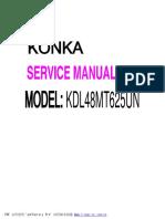 9619 RCA L48T20SMART Televisor LED Manual de Servicio