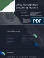 Minor Project Presentation on Smart Switch Board