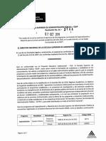 RESOL 3144 de 07-10-2019 Apertura Programas Especialización y Maestria