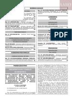 Decreto Supremo Nº 007-2019-PCM