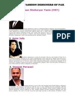 FAMOUS FASHION DESIGNERS OF PAK.docx