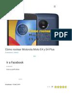 Root Motorola E4 y E4 Plus