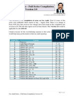 Tax Audit Series - Full Series Complilation Version 2