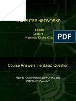 Computer Network - CS610 Power Point Slides Lecture 01.ppt