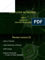 Computer Network - CS610 Power Point Slides Lecture 21.ppt