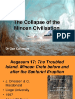 Collapse of the Minoan Civilisation