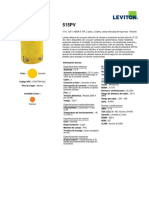 Product Spec or Info Sheet - 515PV