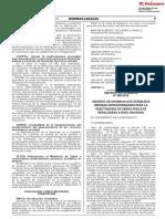 Gobierno publica Decreto de Urgencia para reactivar obras públicas paralizadas