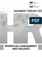 CHRC_HR Management Tool - Workplace Harassment and Violence (2)