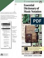 Benny Davis Trumpet Studio Essential Dictionary of Music Notation Text
