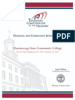 Chattanooga State Audit