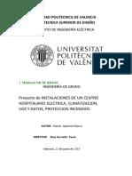MEMORIA DE PROYECTO ELECTRICO