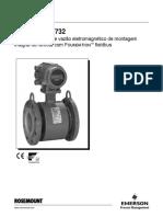Rosemount 8732 - Sistema Medidor de Vazão Eletromagnético.pdf