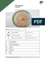 Espiral Crochet Tunecino