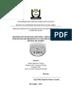 Sistema de Telefonia Multipla FDM e TDM