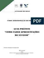Apostila - Apresentações de Sucesso IBS FGV 1 2013
