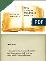 Non Violent Movement Groups