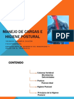 Capacitacion Manejo de Cargas e Higiene Postural