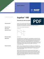 TDS Irgafos-168 e