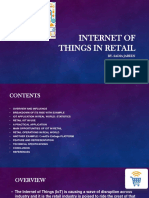 Smart retail using iot