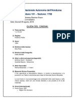 Guida Del Cinema, Italiano-101, 1700, Débora Ramirez