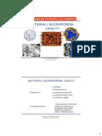 Materiali microporosi