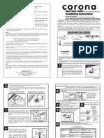 Instructivo Instalacion Sanitario Onepiece Installation Guide 306361001