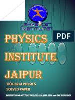 Tifr 2014 Solved Question Paper-1