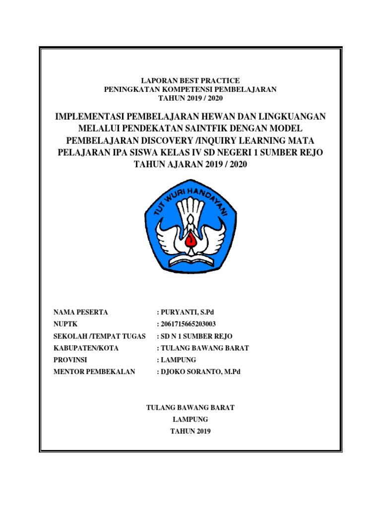 Laporan Best Practice Sd Dicariguru Com Docx