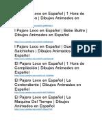 Link Del Pajaro Loco