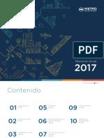 Memoria anual metro de Santiago