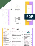 bcit business menu