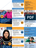 Cours d'anglais pour les jeunes de 9 à 17 ans / English courses for Young People 9 to 17 years old - 2019