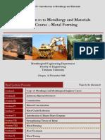 Pengenalan metalurgi