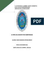 Monografia Educacion Por Competencias